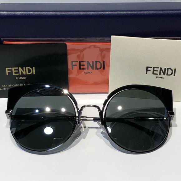 04fd4a330b NWT FENDI Women s FF 0177 S 53mm Sunglasses